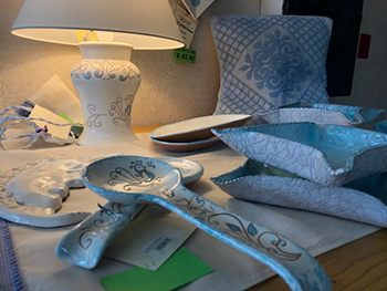 Luci preziose articoli di illuminazione illuminazione ceramica